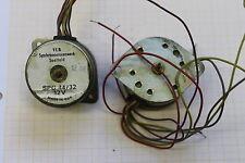 1 Stück DDR VEB Saalfeld Synchronmotor Motor SPG44/32 12V #ASV03