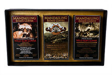 WILD KOPI LUWAK COFFEE ASSORTMENT (WHOLE BEAN) IN STUNNING PRESENTATION BOX