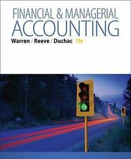 NEW - Financial & Managerial Accounting