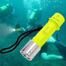 Diving Taschenlampe Wasserdicht Flashlight 1500LM Unterwasserlampe Torch + Bund