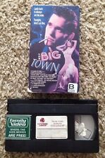 The Big Town (1987) - VHS Video Tape - Drama / Thriller - Matt Dillon-Diane Lane