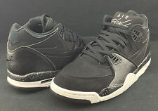 Nike Air Flight 89 Black White Grey 306252-024 Msrp $110 L9 R8