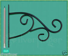 PLANT HANGER BRACKET • STEEL PLANT HOOK • Hanging Garden Planters Flower Baskets