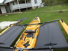 2015 and up - Hobie  Adventure  island  Kayak  Side Trampoline  - Black