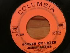 "JOHNNY CRAWFORD 45 RPM ""Sooner or Later"" & ""In Wisconsin"" G condition"