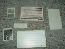 Walthers decals HO Diesel Freight Pass 219-90 Burlington Northern white   G78