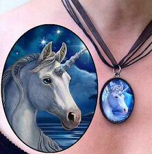 Unicorn Pendant Necklace 'Sacred One' Design by Lisa Parker