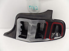 USED OEM TAIL LIGHT FORD MUSTANG 13 14 TAILLIGHT LAMP Tests GOOD - damaged lens