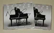 Nathan Sykes Over And Over Again UK Signed Autographed CD Single RARE The Wanted