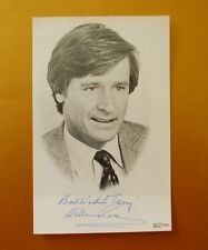 GENUINE AUTOGRAPHED PHOTO ~ POSTCARD SIZE ~  WILLIAM ROACHE [ KEN BARLOW ]