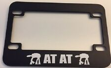 "Robot ""  At-AT Star wars Machine -   Motorcycle / Scooter LICENSE plate frame"