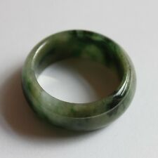 Size 9 1/4 * CERTIFIED Natural A-Grade Beautiful Green Jadeite JADE Ring #J0009