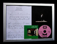 NICK DRAKE Three Hours LTD CD MUSIC FRAMED DISPLAY+FAST GLOBAL SHIPPING