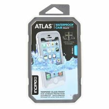 Incipio ATLAS Waterproof Protective Tempered Glass Case iPhone 5 & 5S-Grey/White