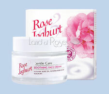 ROSE JOGHURT SOOTHING FACE CREAM WITH NATURAL BULGARIAN ROSE OIL AND YOGHURT