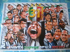 POSTER=JUVENTUS CAMPIONE D'ITALIA 2012/2013=TUTTOSPORT =CM 70X50