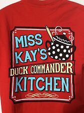 Duck Dynasty MISS KAY'S DUCK COMMANDER KITCHEN 2 sided  T-shirt size sz M medium