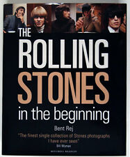 THE ROLLING STONES IN THE BEGINNING / 1965-1966 / BENT REJ /VERY LARGE PHOTOBOOK