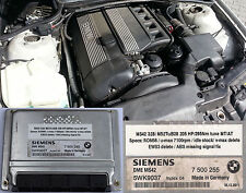 BMW M52TuB28 MS42 remapped ECU 205Hp without EWS and missing ABS safe mode