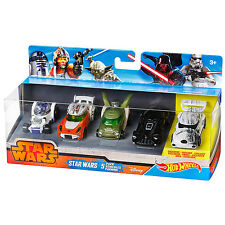NEW 2014 EXCLUSIVE HOT WHEELS STAR WARS COLLECTORS SET Target New Factory Sealed