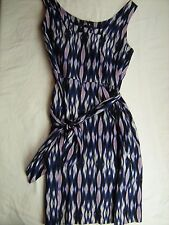 Womens Ladies size 6 Blue Purple sleeveless lined Dress ANN TAYLOR BOUTIQUE