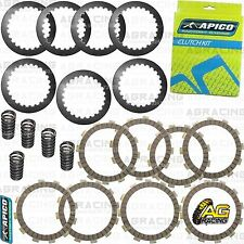 Apico Clutch Kit Steel Friction Plates & Springs For Honda CRF 250R 2004-2009 MX