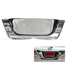 CHROME LICENSE PLATE FRAME COVER TRIM FOR TOYOTA FORTUNER SUV 2012 2013 2014 CAR