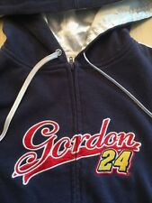 Jeff Gordon 24 Chase Authentics Women's Hoodie Sweat Shirt Fleece Jacket Size M