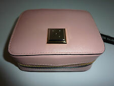 RIVER ISLAND Pink Jewellery Case NWT