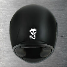 Alien middle finger  Helmet sticker quality 7 year water & fade proof vinyl