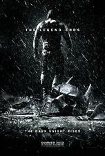 The Dark Knight Rises Original Double-Sided Bane Advance Movie Poster 27x40 2012