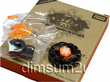 TAKARA TOMY / HASBRO Sol Blaze V145AS Eclipse Black WBBA Beyblade - USA SELLER!