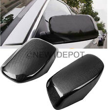 Fit 2004-2007 BMW E60 E61 520i 523i Real Carbon Fiber Rearview Mirror Cover ND