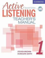 Active Listening 1 Teacher's Manual with Audio CD (Active Listening Second Edit