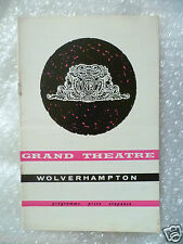 1964 Theatre Programme WATCH IT, SAILOR -Charles Vance, P King, /f L Cary