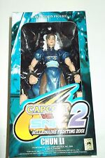 chun li action figure capcom vs snk 2 millionare fighting 2001
