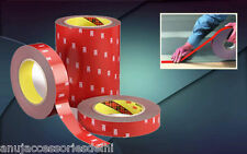"3M Double Side/Sided Adhesive Tape Super Stronger Bonding -1""(24mm) x 10 Meters"