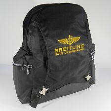 Breitling Luxury Black Backpack Bag Very Rare 2017