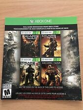 Gears of War Collection Gears of War 1 2 3 & Judgement Voucher (Xbox One, 360)