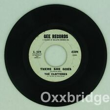 THE CLEFTONES There She Goes/Lover Come Back GEE Original 1962 w/STAMP Doo Wop