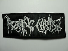 ROTTING CHRIST   EMBROIDERED  PATCH