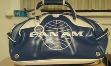 Pan Am Airlines Large Vintage Retro Gym Travel Carry On Bag Rare HTF NWT
