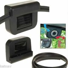 Auto Cool Solar Powered Fan Car auto Air Cooler Ventilation System Cooling