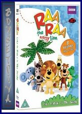 RAA RAA THE NOISY LION - LOTS OF RAAS IN THE JUNGLE*** BRAND NEW DVD  ***