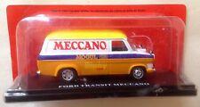 Hachette Véhicules publicitaires Ford Transit Meccano Dinky Toys 1/43ème