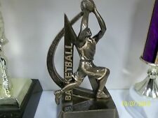 "basketball trophy or award, great new design, about 6"" tall, w/ engraving"