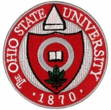 """OSU University of Ohio State Buckeyes Embroidered Iron On Patch 3""""x 3"""" CLASSIC"""