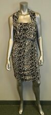 RIPE MATERNITY NWT Harper Black/Gray Mosaic Print Nursing Dress sz XL $99