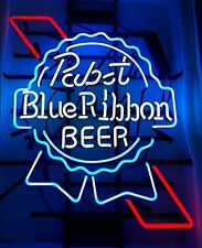 """New Pabst Blue Ribbon Beer Neon Sign 17""""x14"""""""