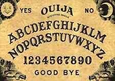 "WOODEN 16""x11""ORIGINAL STYLE"" OUIJA SPIRIT BOARD & PLANCHETT GHOST MAGIC"